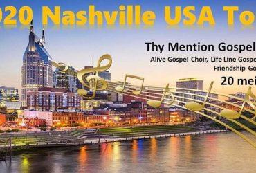 Concertreis naar Nashville